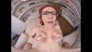 VRBangers - Horney Redhead Liberian Milf Hungers For A Young Cock VR Porn