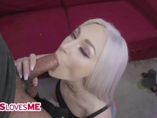 SisLovesMe - Big Tits Teen Stepsis Skylar Vox Gets Fucked