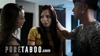 pure taboo hard up musician has 3some with dj in exchange for fame – teen porn