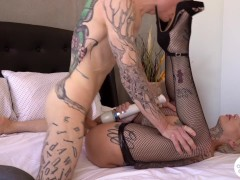 Rough Anal Fuck Tape with Leigh Raven Cum In Gaping Ass