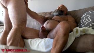 Big Muscle Bear Porn - HAIRY MUSCLE BEAR STROKES BIG FAT COCK UNTIL SHOOTING A BIG LOAD |  Thumbzilla