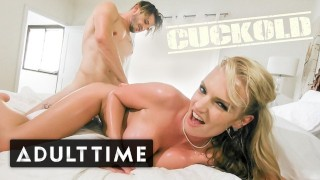 ADULT TIME Cheating Wife Caught & Cucks You with Creampie