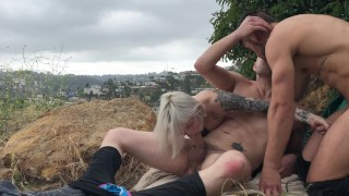 Bi Threesome with Dante Colle, Sammy Knox & Wolf Hudson Part 2