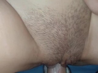 Cumming Twice From Tight stepsister's Pussy