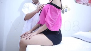 Doctor Gives Pinay 18yo Teen Patient Vaginal Exam