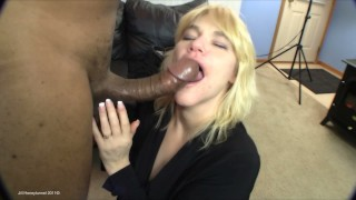 """Amateur Video: White MILF Squirts All Over My 11"""" BBC Taking A Balls Deep Creampie!"""