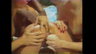 Sensual Lesbian Threesome With Toys