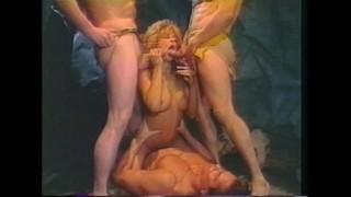Horny Caveman Foursome Fucking