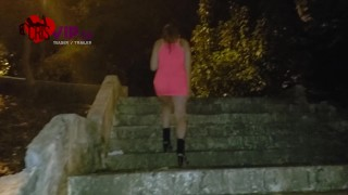 Pregnant slutwife with strangers in public - Cuckold Husband Records
