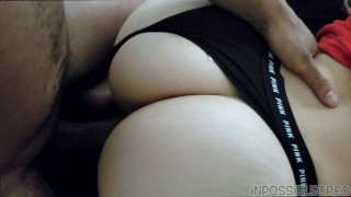 SLIM THICK PAWG GETS BACKSHOTS AS SOON AS SHE WAKES UP BEFORE WORK