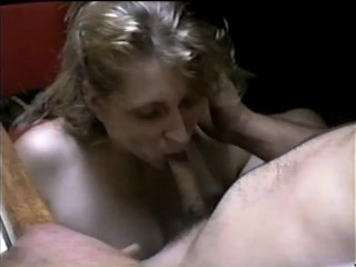 UNKNOWN BEAUTIFUL BLONDE GIVES DEEPTHROAT ON LEAKED VHS 90s COLLECTION