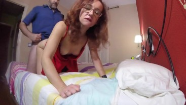 Wife recording while fucking a tinder date and sending it to her