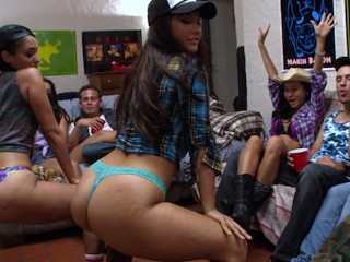 COLLEGE RULES - Wild Teen College Orgy!
