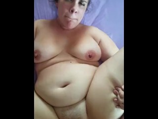Horny Nicky Gets A Thick Line of Cum From Chin to Bellybutton