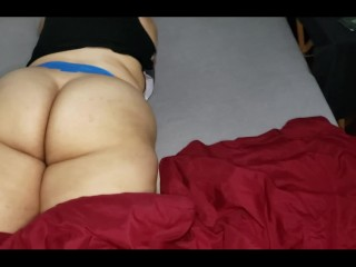 She is ready to take some hard dick balls deep in her ass, any volunteers?