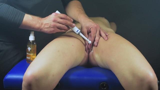 Post Orgasmus Vibrator Folter