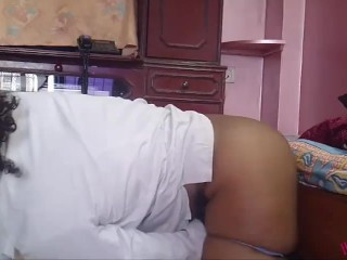 Big Ass Indian Tamil Star Horny Lily In Her Bedroom Masturbating