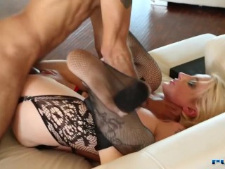 Pounded In The Ass by BBC And Sucking The Juices Off