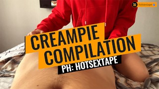 Screen Capture of Video Titled: HOT CREAMPIE COMPILATION 2019  hotsextape