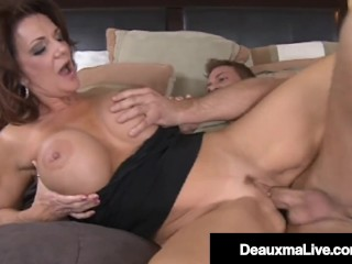 Southern Mother Deauxma Blows & Bangs Young Friend's Dick!