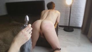 Femdom Spanking & Milking Cock - Mistress Domination