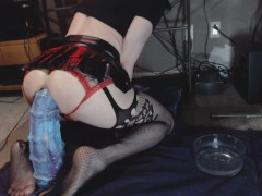 Grandmaster anal training featuring the Seahorse Vol.2