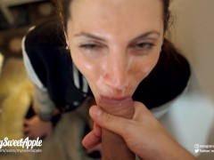 Facial and swallow cumshot compilation - amateur mysweetapple | Recorded Cam Show