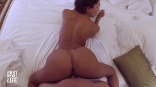 Screen Capture of Video Titled: POV-CASTING-REAL PHOTOSHOOT- I FUCK BABY NICOLS - HIDDEN GLASSES CAMERA -