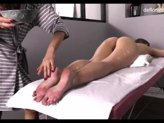 Jennifer Lorentz hot virgin massage