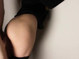 Amateur hard fucked hot girlfriend in stockings. Custom video