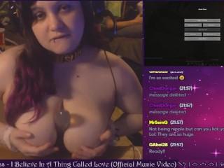 Gamer Girl Gives Free Creamy Cum Show LIVE on Plexstorm Stream