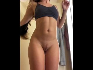 Undressing in tj maxx