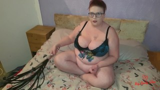New flogger JOI CEI huge tits mistress Shez