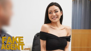 Fake Agent Asian babe Rae Lil Black fucked on the casting couch