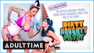 ADULT TIME Bubblegum Dungeon: Lesbian Mistress Dominates
