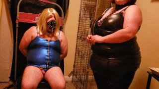 Bbw Mistress and doll