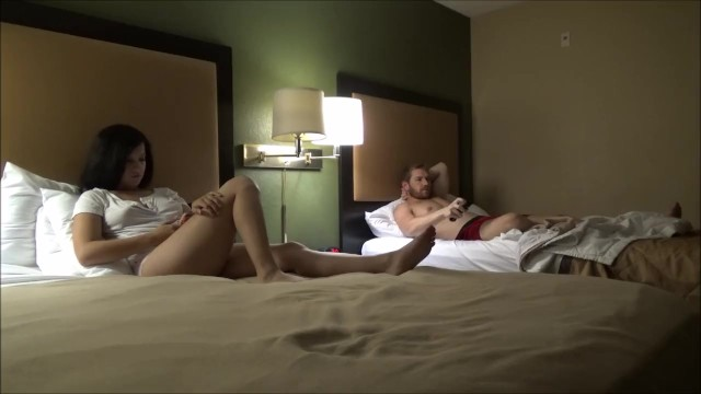 stepbrother & stepsister Spend The Night Together -Annika Eve- stepfamily Therapy