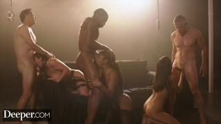 Black Bisexual Gangbang