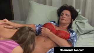 Mature Muff Diver Deauxma Pleases Tight Pussy