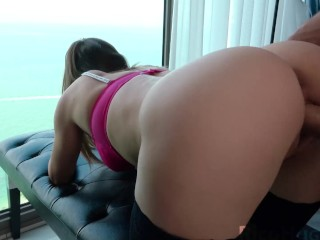Horny Teasing Wet Pussy and Doggystyle with Big Dick