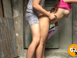 Cheating Pinay Wife Fucked by her Neighbor - Naughty Outdoor Sex amatuer sex tube