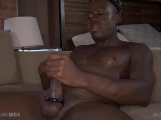 King of cum blows his load