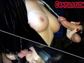 Big Milked Cumshots! KittyBeGood Compilation #1