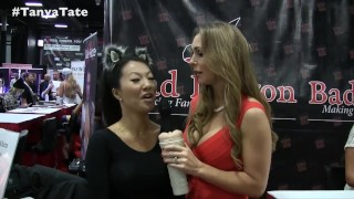 Tanya Tate Interviews Asa Akira - Sex With Fans, Home Made Porn