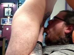 Attempted ASMR Face Fucking & Cum Down Throat, Then on His Face Attempted ASMR Face Fucking & Cum Down Throat, Then on His Face