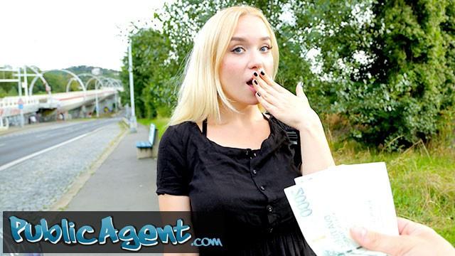 Public Agent Blonde Lesbian