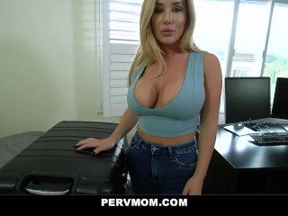 Pervmom – Big Ass Step Mom Cheats With Her Huge Cock Stepson