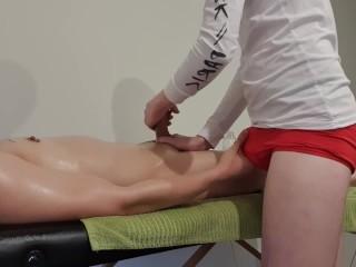 Client gets erection during massage