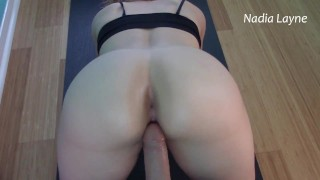 MILF Step Mom Arching Up Onto That Cock