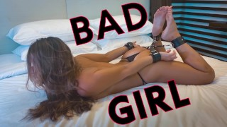 Hand Cuffed Super Hot Teen Gets Penalizedand Fucked Rough - BDSM POV